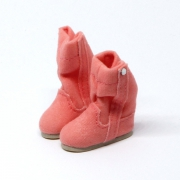 Pink fluffy Winterboots