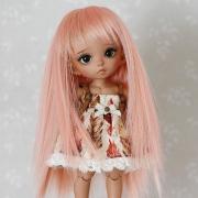 5-6 Long Wig - Milk Pink
