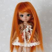 5-6 Long Wig - Carrot