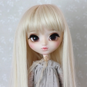9-10 Long Wig - Milky Blond