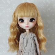 9-10 Medium wavy Wig - Sweety Gold