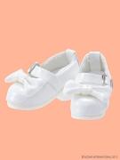 White Ribbon Strap Shoes