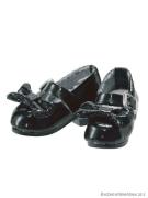 Black Ribbon Strap Shoes