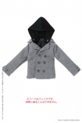 Grey Hooded Coat (Pure Neemo)