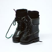 Black high Boots with socks