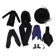 Pullip Outfit Set: Black Peace Now Campanella