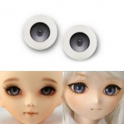 BJD Acrylic Candy Eyes - Grey