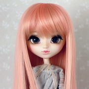 9-10 Long Wig - Milky Pink