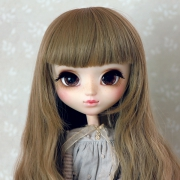 9-10 extra long wavy Wig - Sand Brown