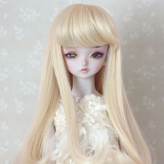 7-8 medium Wig - Soft Blond