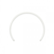 Plastic Headband for BJD - White