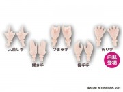 1/6 Pure Neemo Flection Hand Parts (White Skin) - Set C