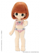 Gingham Bra & Shorts Set - Strawberry (Kikipop)