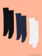 3 high socks in Black/Navy/White (Picco Neemo 1/12)