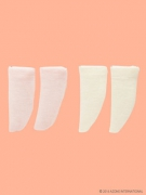 2 socks in Pink/Beige (Picco Neemo 1/12)