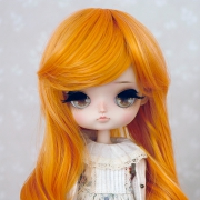 8-9 Medium curled Wig - Marmalade