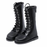 Schwarze hohe Stiefel für SD