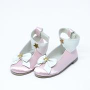 Rosa Magical Schuhe mit Sternchen