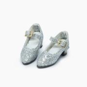 Silver Glitter-Pumps