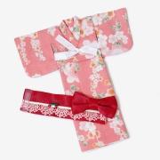 Yukata (pink with cherryflowers) for Pullip