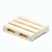 Miniature euro pallets 10x8x2 cm