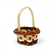 Basket light/brown