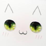 Fantasy Eyechips - Kitty