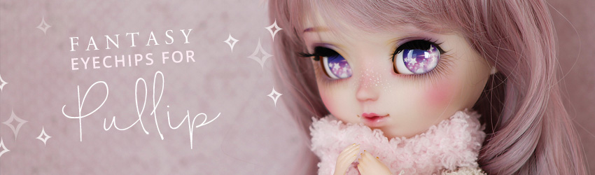 Eyechips for Pullip and Dal